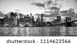 new york city  financial... | Shutterstock . vector #1114623566