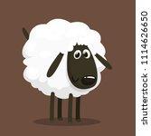 Cute Cartoon Sheep Mascot...