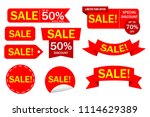 special offer sale banner for... | Shutterstock .eps vector #1114629389