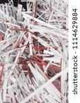 pile of shredded documentary... | Shutterstock . vector #1114629884