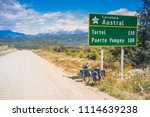 aysen   patagonia   chile ... | Shutterstock . vector #1114639238