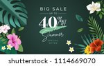 summer sale vector illustration ... | Shutterstock .eps vector #1114669070