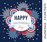 happy independence day  4th... | Shutterstock .eps vector #1114675370