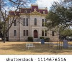 courthouse in sonora  tx | Shutterstock . vector #1114676516