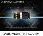 illustration of an automotive... | Shutterstock .eps vector #1114677224