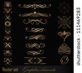 set of design elements | Shutterstock .eps vector #111469283