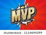 most valuable player  mvp...   Shutterstock .eps vector #1114694399