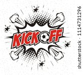 Kick Off Soccer  Comic Book...