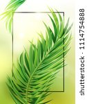 tropical design with exotic...   Shutterstock .eps vector #1114754888