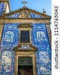 traditional historic facade in... | Shutterstock . vector #1114765043