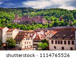 view of beautiful medieval town ... | Shutterstock . vector #1114765526