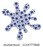 splash mosaic made from blot... | Shutterstock .eps vector #1114777868