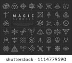 vector collection of various... | Shutterstock .eps vector #1114779590