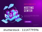 vector isometric design of web... | Shutterstock .eps vector #1114779596