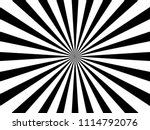 white and black ray burst style ... | Shutterstock .eps vector #1114792076