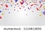 usa independence day poster... | Shutterstock .eps vector #1114813850
