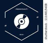 cd  dvd symbol icon | Shutterstock .eps vector #1114815608