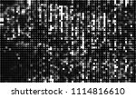 halftone texture black and white | Shutterstock .eps vector #1114816610
