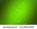 close up of a water drops on a... | Shutterstock . vector #1114823090