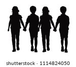 fashion children vestors | Shutterstock .eps vector #1114824050