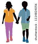 fashion children vestors   Shutterstock .eps vector #1114824056