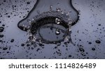 super slow of water dropping at ... | Shutterstock . vector #1114826489