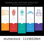 5 vector icons such as map ... | Shutterstock .eps vector #1114832864