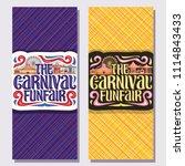 vector vertical banners for...   Shutterstock .eps vector #1114843433