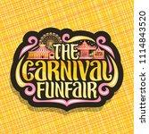 vector logo for carnival...   Shutterstock .eps vector #1114843520