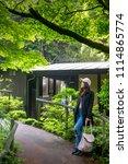 japan forest in summer season ...   Shutterstock . vector #1114865774
