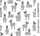 seamless vector pattern with... | Shutterstock .eps vector #1114889960