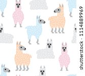 seamless vector pattern with... | Shutterstock .eps vector #1114889969