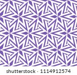 seamless pattern with symmetric ... | Shutterstock .eps vector #1114912574