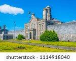 Stock photo arbour hill prison dublin ireland 1114918040
