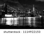 new york city  financial... | Shutterstock . vector #1114922153