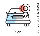 car icon vector isolated on...