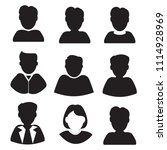 people icons. office people... | Shutterstock .eps vector #1114928969