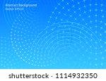 dark abstract vector background ... | Shutterstock .eps vector #1114932350