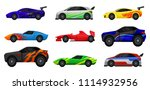 flat vector set of various... | Shutterstock .eps vector #1114932956