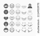 smile icon  laugh vector   Shutterstock .eps vector #1114933970