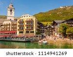 st.wolfgang  austria   may 27 ...   Shutterstock . vector #1114941269