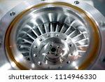 blades molecular vacuum pump....   Shutterstock . vector #1114946330