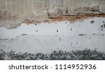 nice cracking wall  | Shutterstock . vector #1114952936