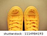 happy and sad smiley emoticon... | Shutterstock . vector #1114984193