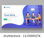 responsive website or hero... | Shutterstock .eps vector #1115000276