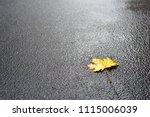 photo of autumn leaves on...   Shutterstock . vector #1115006039