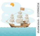 sea transportation logistic.... | Shutterstock .eps vector #1115006216