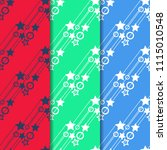 geometric seamless pattern... | Shutterstock .eps vector #1115010548
