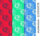 geometric seamless pattern.... | Shutterstock .eps vector #1115010578