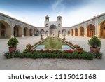 nasir al mulk mosque in shiraz  ... | Shutterstock . vector #1115012168
